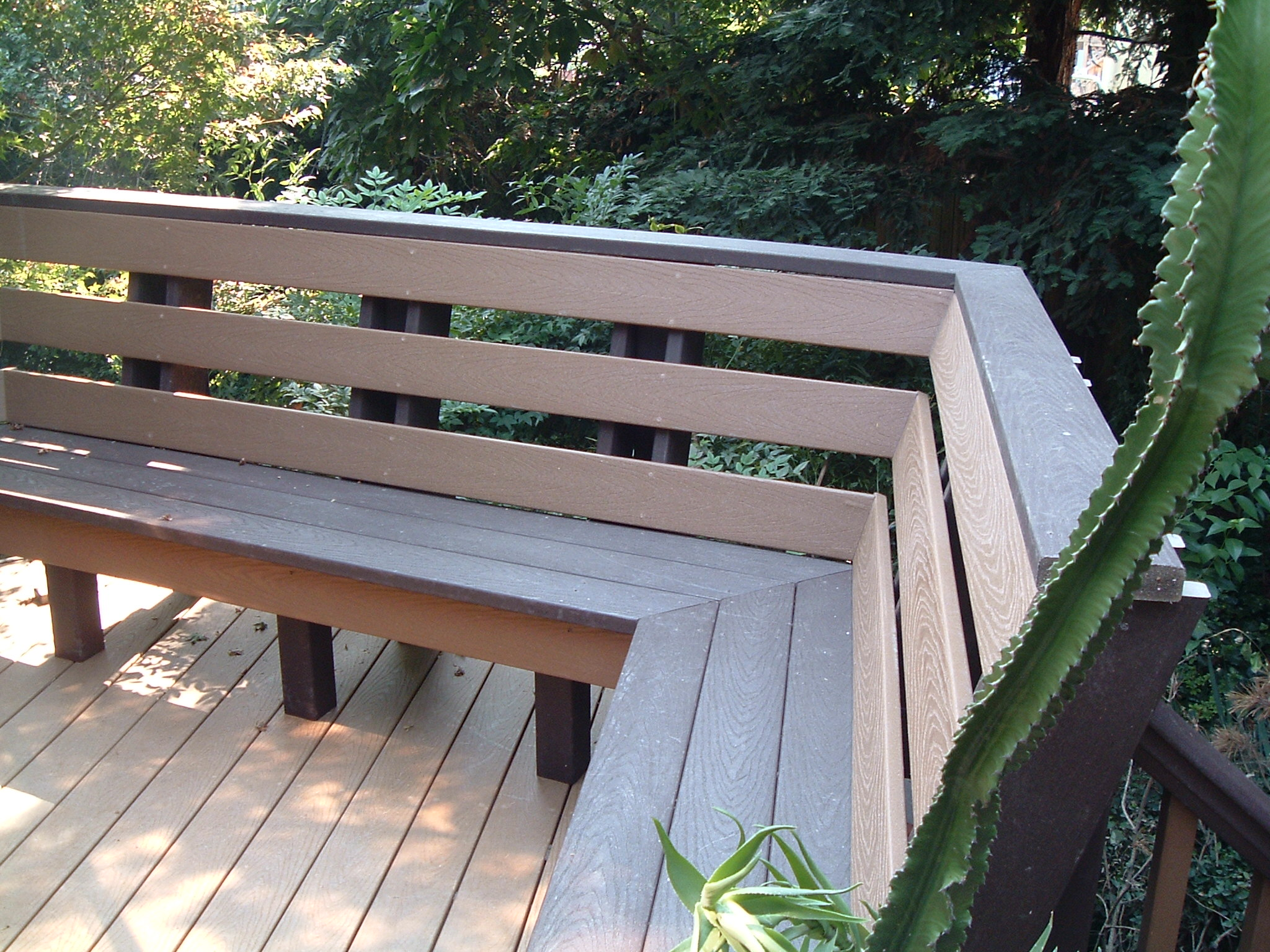 Built In Deck Bench Deck Bench Jpg Pictures to pin on Pinterest