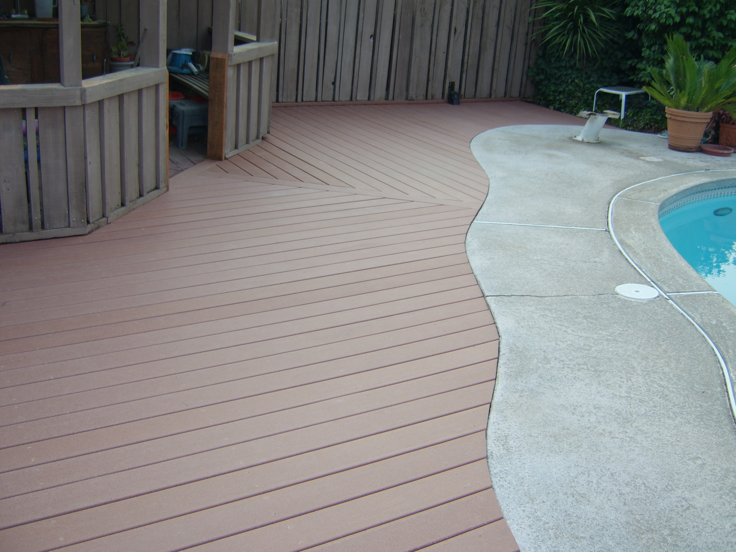 100 deck composite material composite decking materials for Composite deck material reviews